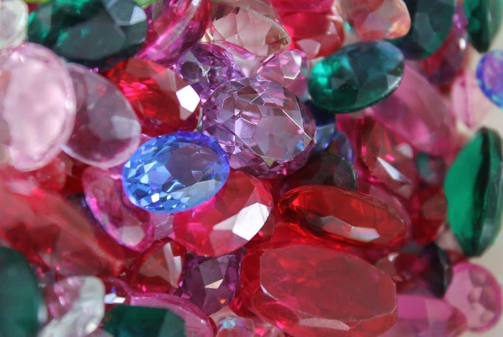 Les pierres de rubis